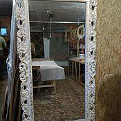 Для дома и интерьера ручной работы. Ярмарка Мастеров - ручная работа Зеркало в большой 2м., резной раме. Handmade.