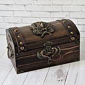 Для дома и интерьера handmade. Livemaster - original item Box: Hunter`s Chest. Handmade.