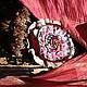 Броши ручной работы. Ярмарка Мастеров - ручная работа. Купить Брошь из ткани  !Веснянка!. Handmade. Фуксия, шебби, лес, балерина