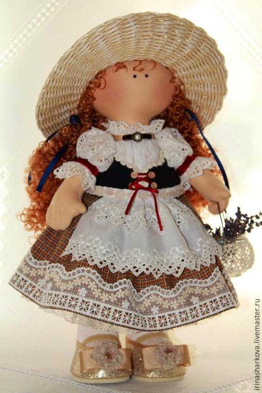 Куклы тыквоголовки ручной работы. Ярмарка Мастеров - ручная работа. Купить Куколка в БАВАРСКОМ наряде ))). Handmade.