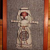Картины ручной работы. Ярмарка Мастеров - ручная работа Панно этническое.Трипольская кукла мотанка. Handmade.