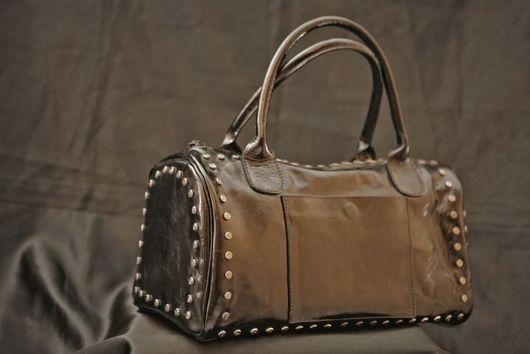 Женские сумки ручной работы. Ярмарка Мастеров - ручная работа. Купить balagura. Handmade. Черный, натуральная кожа