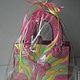 Раснисной пряник ручной работы.   Ароматная пряничная сумка - отличный подарок для девочки, женщины, на день рожения.Татьяна Римская. Ярмарка мастеров