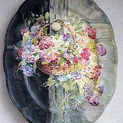 Посуда ручной работы. Ярмарка Мастеров - ручная работа декоративные тарелочки. Handmade.