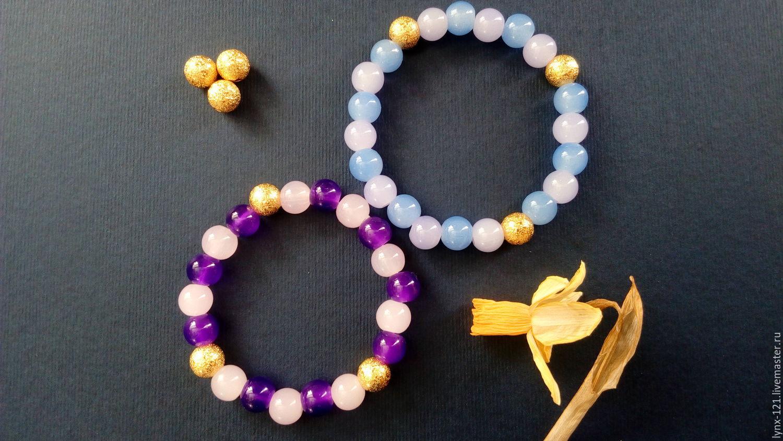 Мастер-класс: браслет плетёный с крупными бусинами Ярмарка 11