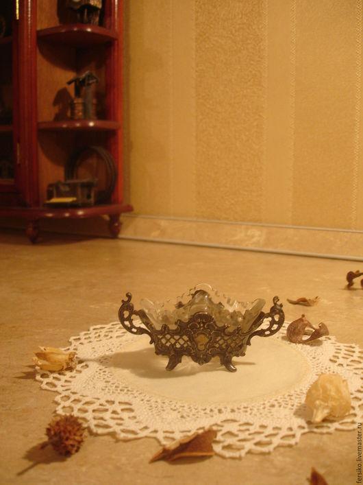 Винтажная посуда. Ярмарка Мастеров - ручная работа. Купить Антикварная серебряная солонка!!!. Handmade. Старинная солонка, редкость, оригинальный подарок