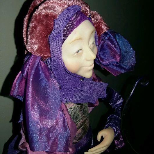 """Коллекционные куклы ручной работы. Ярмарка Мастеров - ручная работа. Купить Кукла """" аромат ириса """". Handmade. ирис"""