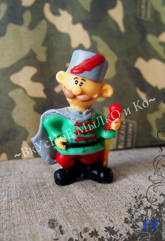 """Мыло ручной работы. Ярмарка Мастеров - ручная работа. Купить Мыло для рук """"Военный"""". Handmade. Солдат, мужик, мыльный сувенир"""