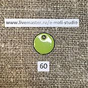 Материалы для творчества handmade. Livemaster - original item Enamel opaque Pistachio Green No.60 Dulevo. Handmade.