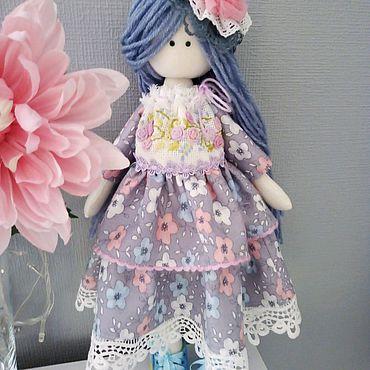Куклы и игрушки ручной работы. Ярмарка Мастеров - ручная работа Кукла ручной работы. Текстильная кукла.. Handmade.