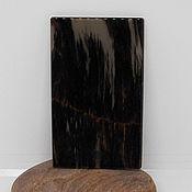Материалы для творчества ручной работы. Ярмарка Мастеров - ручная работа Обсидиан камень срез спил плита. Handmade.