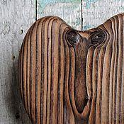 Подарки к праздникам ручной работы. Ярмарка Мастеров - ручная работа Красавэц! - сердце из дерева. Handmade.