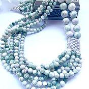 Украшения handmade. Livemaster - original item Necklace made of natural jadeite. Handmade.