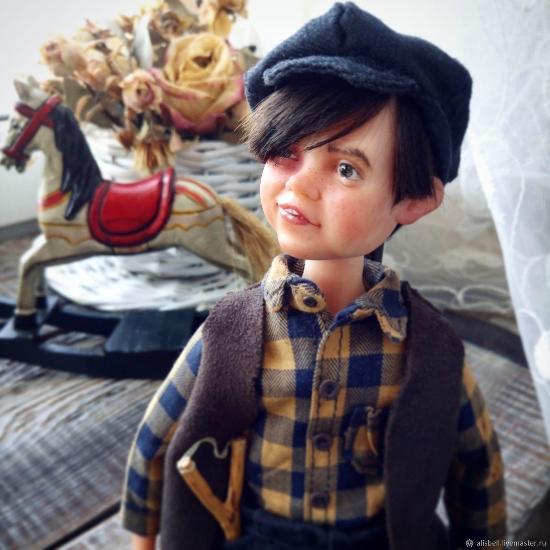 Хулиган Джек (будуарная коллекционная кукла), Куклы и пупсы, Барнаул,  Фото №1