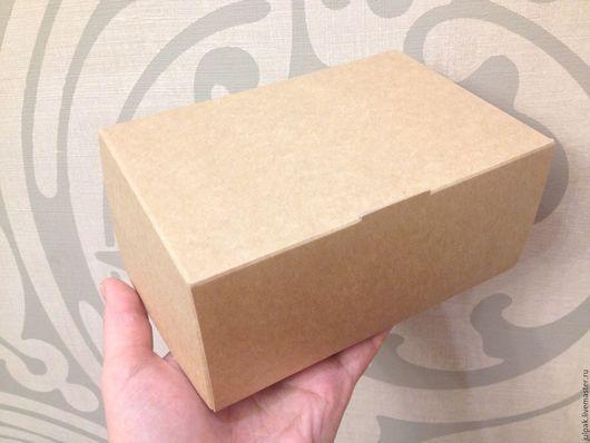 Упаковка ручной работы. Ярмарка Мастеров - ручная работа. Купить ХИТ Коробка  15х10х7 см, крафт, эко, TABOX 1200. Handmade.