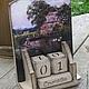 """Календари ручной работы. Ярмарка Мастеров - ручная работа. Купить Вечный календарь """"Рыбалка"""". Handmade. Серый, календарь ручной работы"""