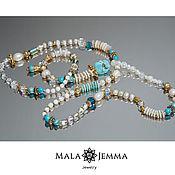 Necklace handmade. Livemaster - original item Beads Cote d`azur. Handmade.