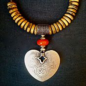 """Украшения ручной работы. Ярмарка Мастеров - ручная работа """"Железное сердце"""". Handmade."""