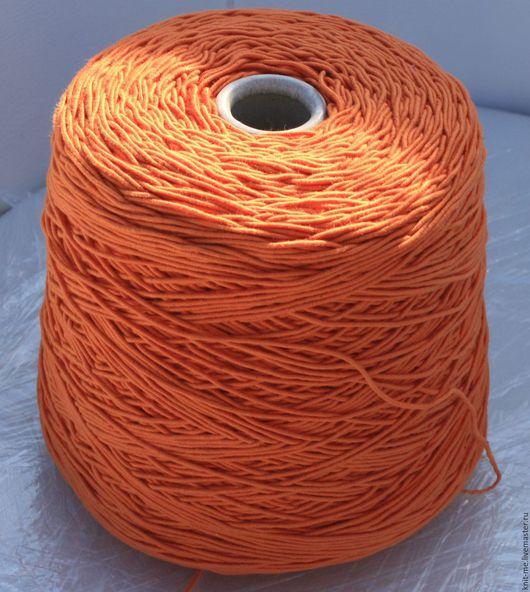 Вязание ручной работы. Ярмарка Мастеров - ручная работа. Купить SPAGO (Igea). Handmade. Рыжий, пряжа спагетти, пряжа на бобинах