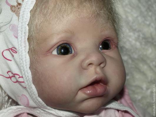 Куклы-младенцы и reborn ручной работы. Ярмарка Мастеров - ручная работа. Купить Криста  кукла реборн из молда Криста скульптора Линды Мюррей.. Handmade.
