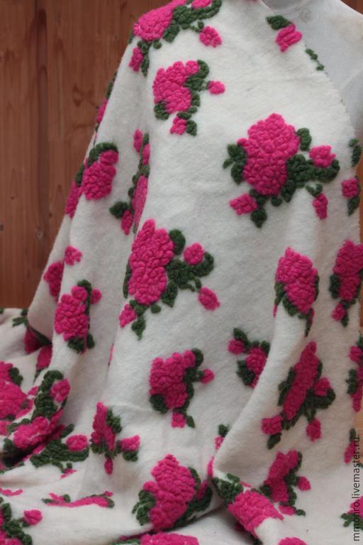 Шитье ручной работы. Ярмарка Мастеров - ручная работа. Купить Ткань для пальто кашемир, шерсть.. Handmade. Ткань, ткань пальтовая
