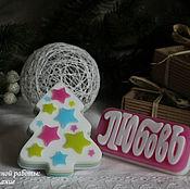 Косметика ручной работы. Ярмарка Мастеров - ручная работа Новогодний набор мыла ручной работы. Handmade.