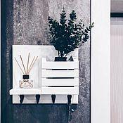 Для дома и интерьера handmade. Livemaster - original item Key holder made of wood on the wall in the hallway. Handmade.