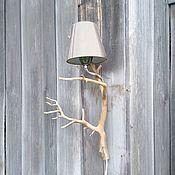 Для дома и интерьера handmade. Livemaster - original item A lamp made from twigs Light Forest. Handmade.