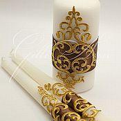 Свадебный салон ручной работы. Ярмарка Мастеров - ручная работа Свечи домашний очаг Chocolate Queen. Handmade.