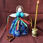 Народная кукла ручной работы. Ярмарка Мастеров - ручная работа Славянская куколка оберег Манилка. Handmade.