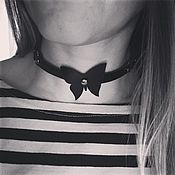 Аксессуары handmade. Livemaster - original item Choker with bow tie. Handmade.