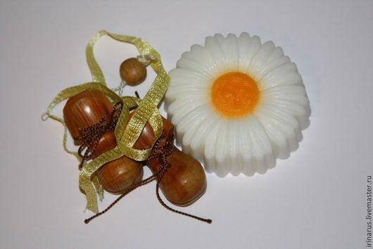 """Мыло ручной работы. Ярмарка Мастеров - ручная работа. Купить Мыло """"Ромашка"""". Handmade. Белый, сувенирное мыло"""