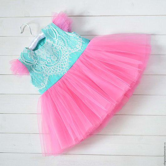 """Одежда для девочек, ручной работы. Ярмарка Мастеров - ручная работа. Купить Платье на годик """"Lollipop"""". Handmade. Платье для девочки"""