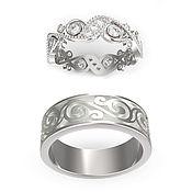 Свадебный салон handmade. Livemaster - original item Wedding ring