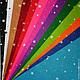 """Валяние ручной работы. Ярмарка Мастеров - ручная работа. Купить Фетр с рисунком """"Звездочки"""" жесткий 20х30см. Handmade. Фетр с рисунком"""