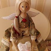 Куклы и игрушки ручной работы. Ярмарка Мастеров - ручная работа Аделина - хранительница домашнего очага.. Handmade.