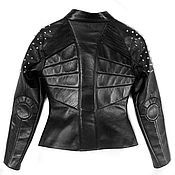 Одежда handmade. Livemaster - original item Leather jacket. Handmade.