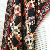 Для дома и интерьера handmade. Livemaster - original item Patchwork blanket ITS OWN MELODY patchwork bedspread. Handmade.