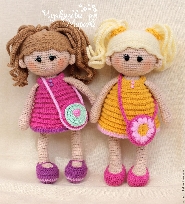 куклы крючком схема описание