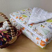 handmade. Livemaster - original item Baby blanket: plush blanket. Handmade.