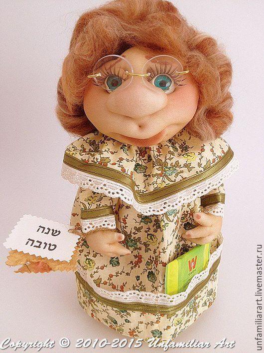 """Кухня ручной работы. Ярмарка Мастеров - ручная работа. Купить Текстильная кукла  """"Чайная Бабушка-6"""" для чайных пакетиков. Handmade."""