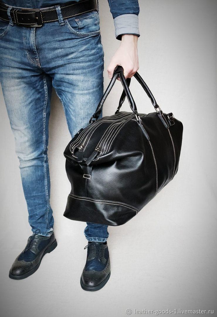 Большая кожаная сумка 60 см Бельмонд, Спортивная сумка, Санкт-Петербург,  Фото №1