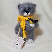 Мягкие игрушки ручной работы. Ярмарка Мастеров - ручная работа Лучше синица в руках...  Кот.... Handmade.
