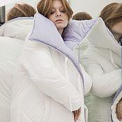 Пуховики ручной работы. Ярмарка Мастеров - ручная работа Пуховик - одеяло двухсторонний зимний. Handmade.