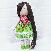 Куклы и игрушки ручной работы. Ярмарка Мастеров - ручная работа Кукла текстильная Ягодка. Handmade.
