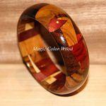 Magic Color Wood Браслеты дерево - Ярмарка Мастеров - ручная работа, handmade