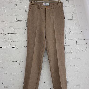 Clothing handmade. Livemaster - original item Pants sand color. Handmade.