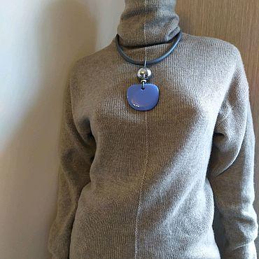 Одежда ручной работы. Ярмарка Мастеров - ручная работа Водолазка из 100% кашемира Loro Piana (Италия). Handmade.