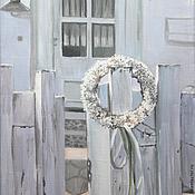 Картины и панно ручной работы. Ярмарка Мастеров - ручная работа Приглашение. Handmade.