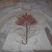 """Одежда ручной работы. Ярмарка Мастеров - ручная работа Жакет """"Розовый зонтик"""". Handmade."""